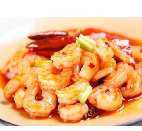 33. Crevettes pimentées 辣虾