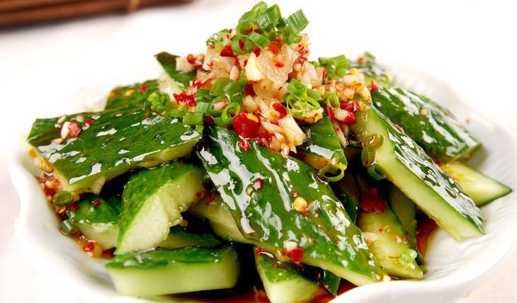 27. Cucumber Salad 拍黄瓜