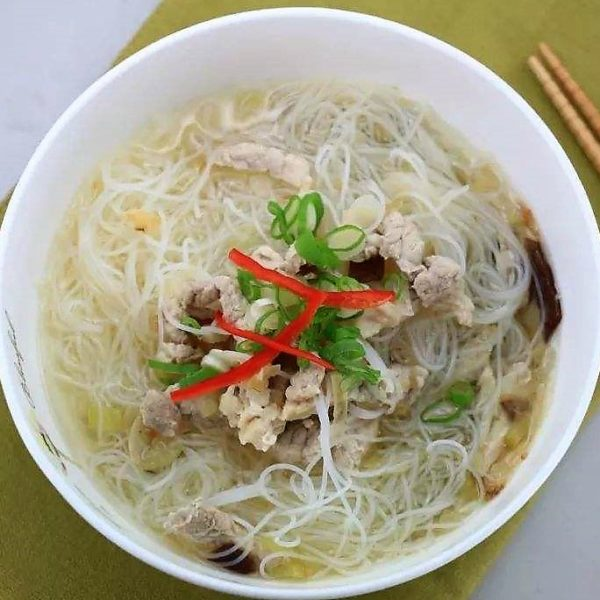 200A. Soupe vermicelles au poulet 鸡肉汤米