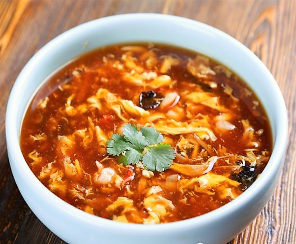 2. Potage aigre-piquant 酸辣汤