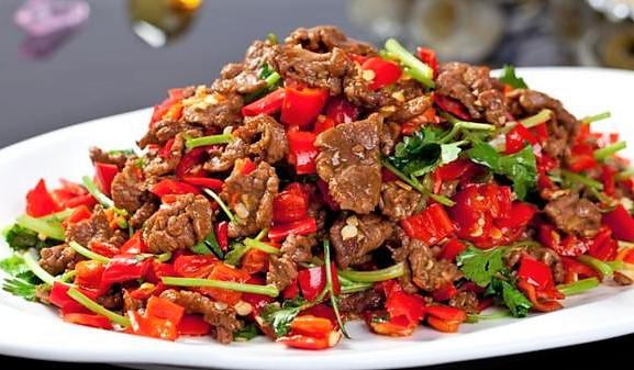188B. Thousand Chilli Beef 香辣牛肉