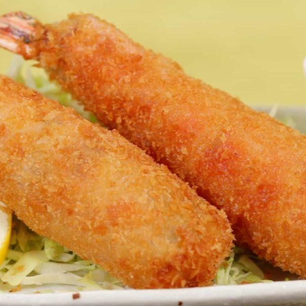 16. Beignets de crevettes 炸虾 2p