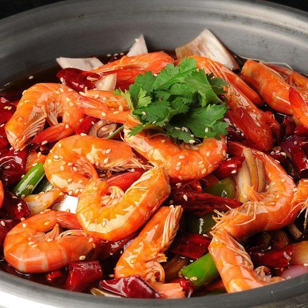 133C. Dry Pot Shrimps 香辣干锅虾
