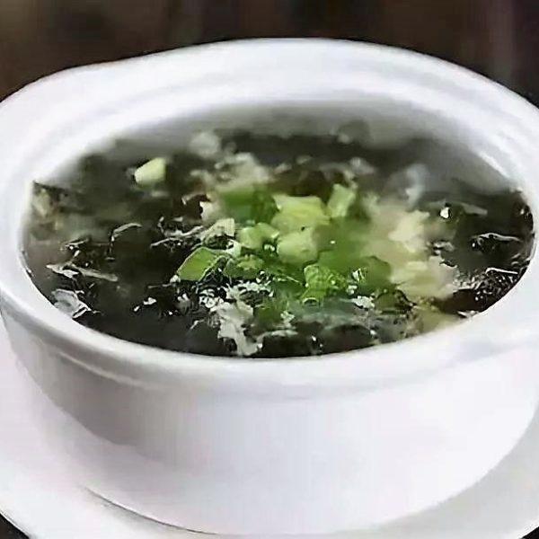 8. Soupe aux Algues 紫菜汤